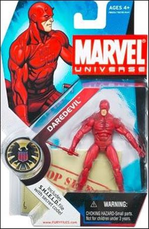Marvel Universe (Series 1) Daredevil (Red Costume)