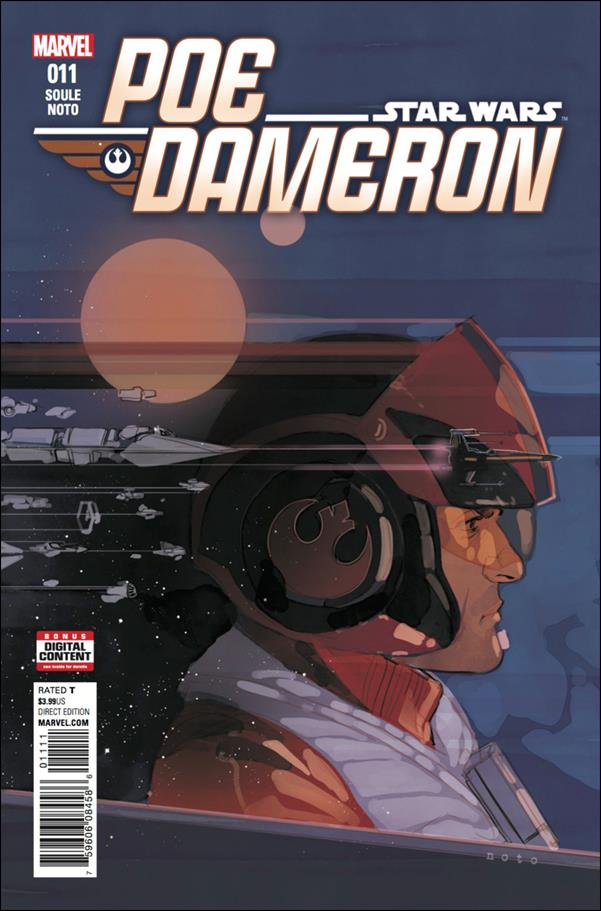Poe Dameron 11-A by Marvel