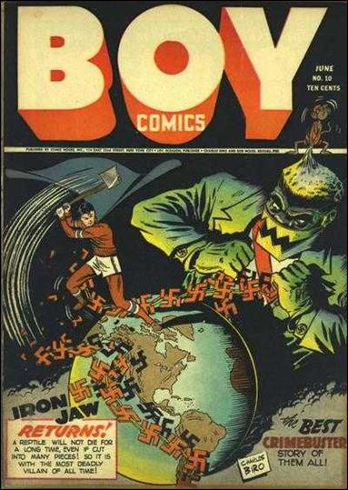 Boy Comics 10-A by Lev Gleason Productions