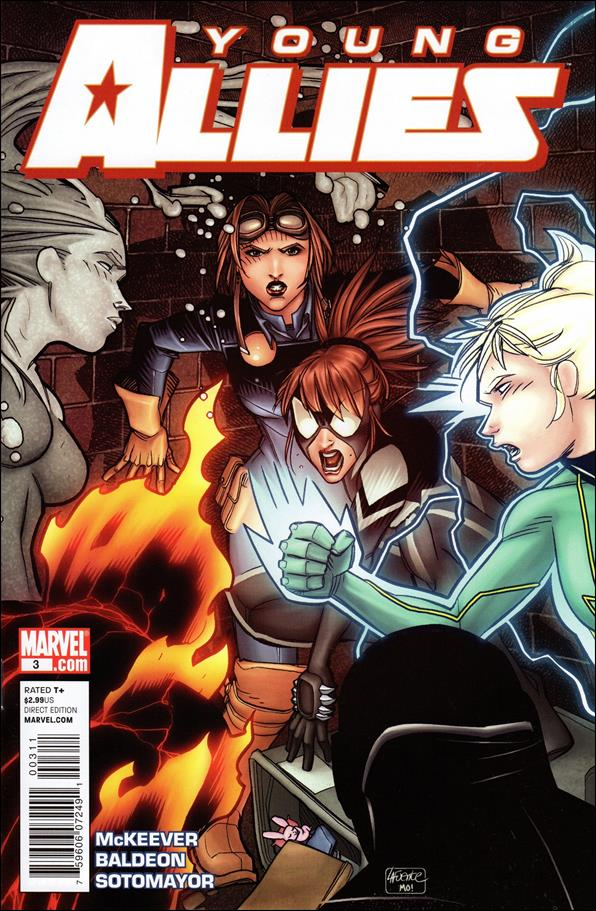 Young Allies 3-A by Marvel