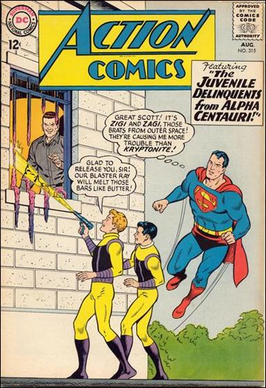 Action Comics (1938) 315-A by DC
