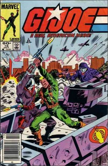 G.I. Joe: A Real American Hero 16-A by IDW