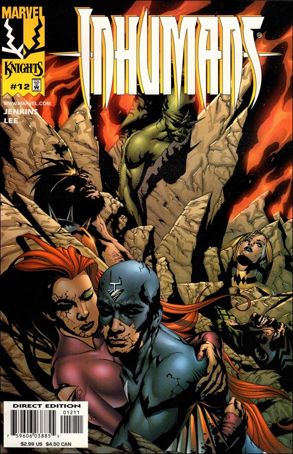 Inhumans (1998) 12-A by Marvel