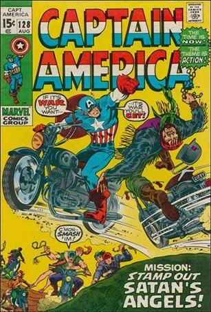 Captain America (1968) 128-A