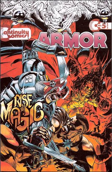 Armor (1993) 5-A by Continuity Comics