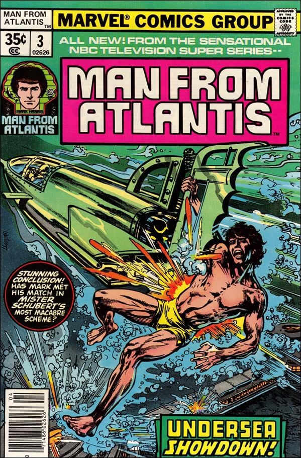 Man from Atlantis 3-A by Marvel