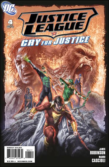 Justice League: Cry for Justice 4-A by DC