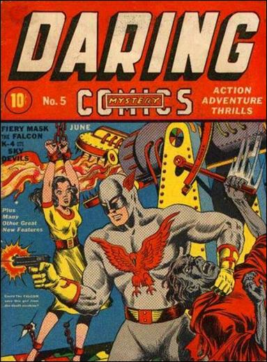 Daring Mystery Comics 5-A by Timely
