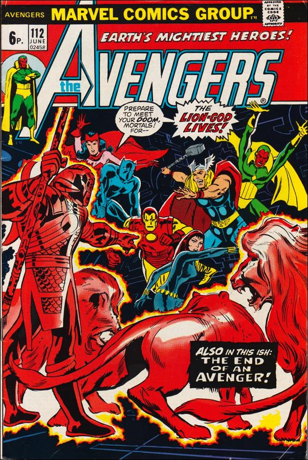 Avengers (1963) 112-B by Marvel