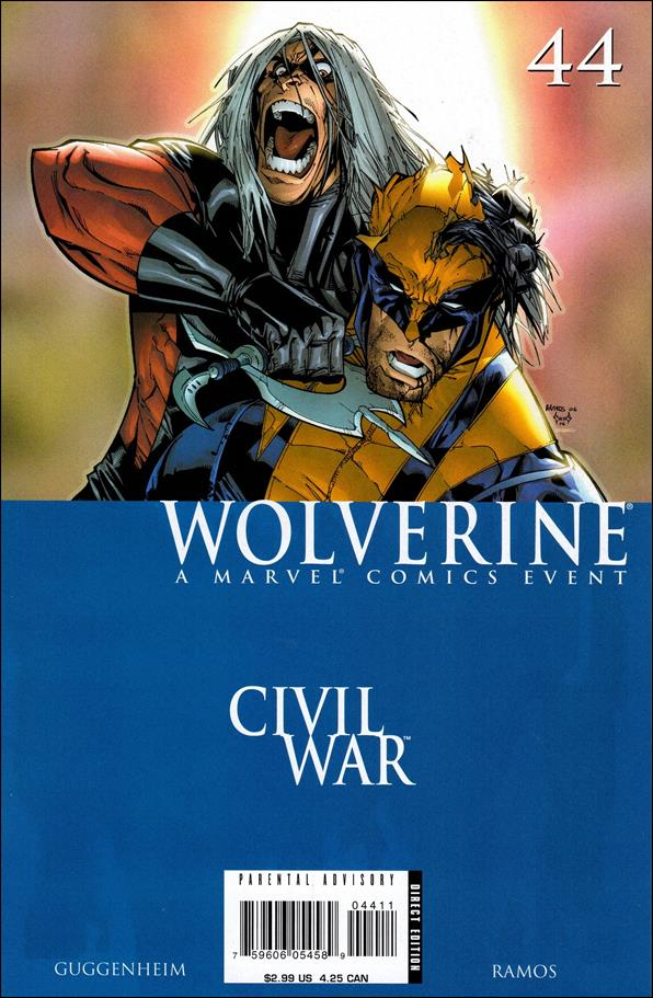 Wolverine (2003)  44-A by Marvel
