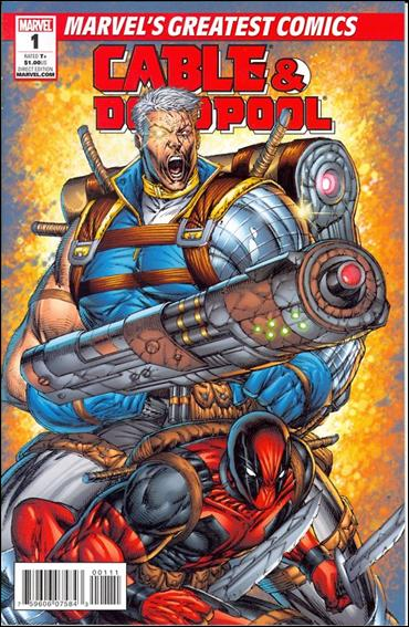 Cable &amp; Deadpool 1-B by Marvel