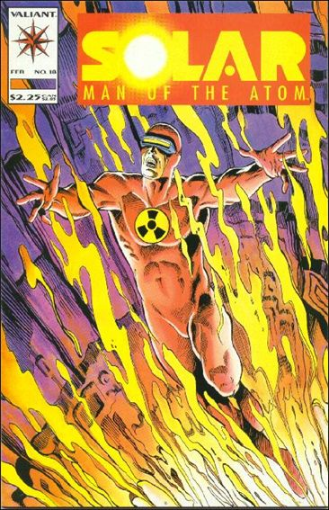 Solar, Man of the Atom (1991) 18-A by Valiant