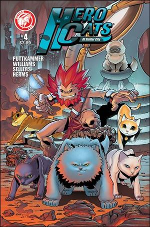 Hero Cats of Stellar City 4-A