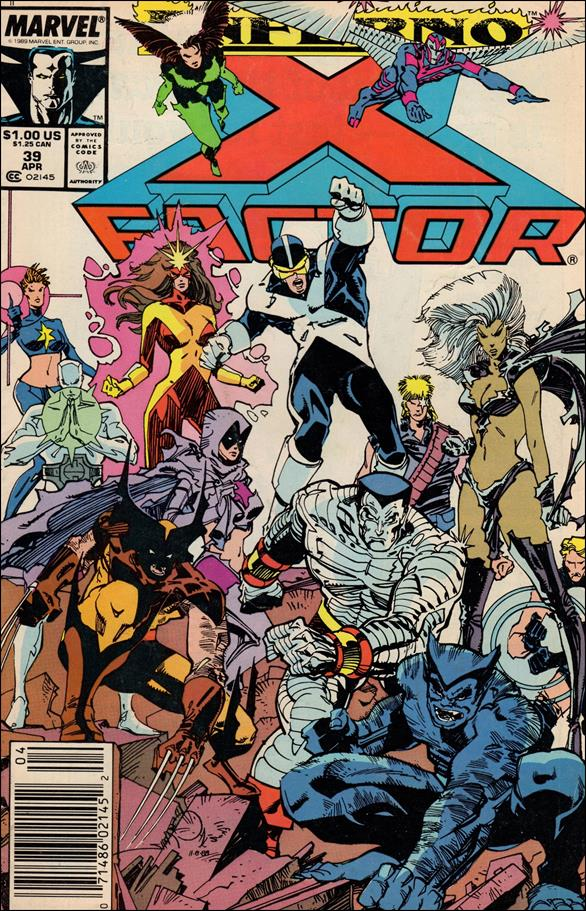 X-Factor (1986) 39-A by Marvel