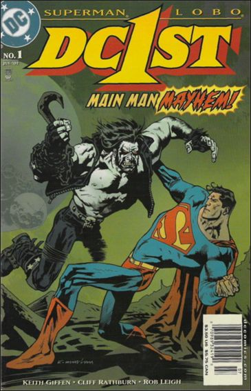 DC First: Superman/Lobo 1-A by DC