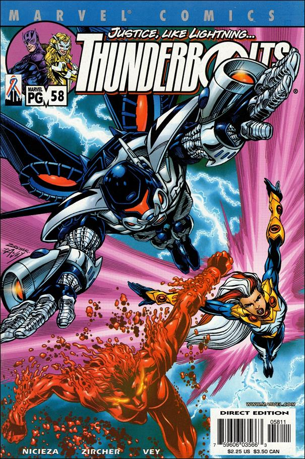 Thunderbolts (1997) 58-A by Marvel