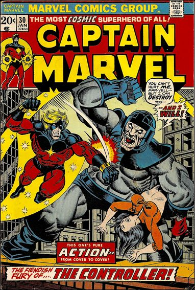 Captain Marvel (1968) 30-A by Marvel