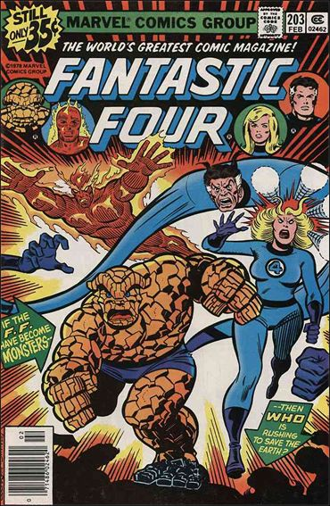 Fantastic Four (1961) 203-A by Marvel