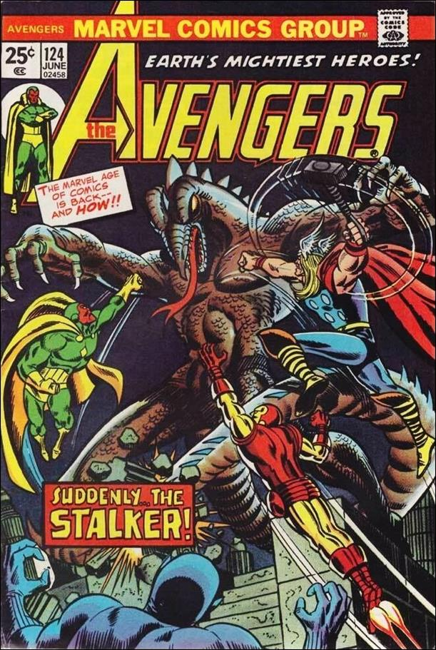 Avengers (1963) 124-A by Marvel