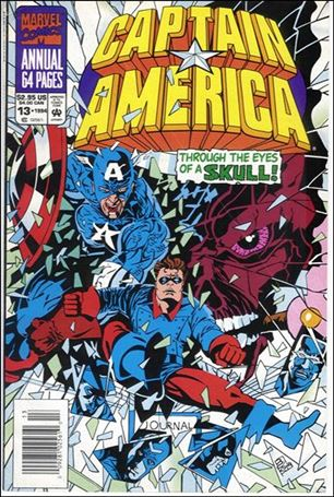 Captain America Annual 13-A