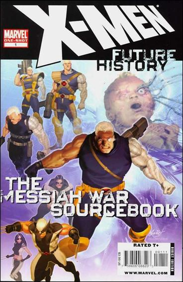 X-Men: Future History - The Messiah War Sourcebook 1-A by Marvel