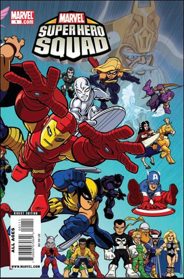 Marvel Super Hero Squad (2010) 1-A by Marvel