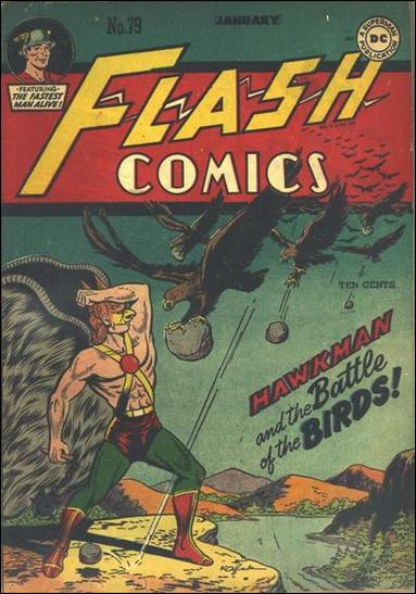 Flash Comics (1939) 79-A by DC