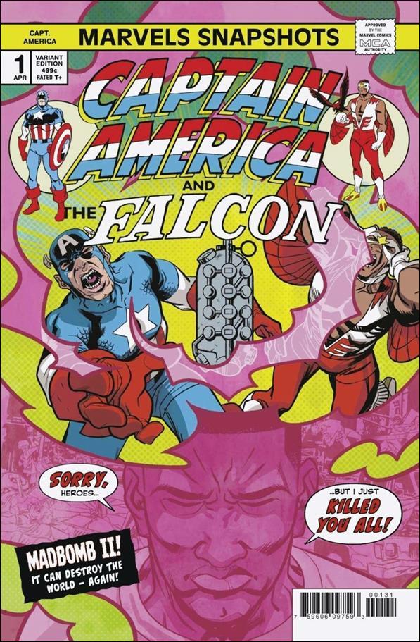 Captain America: Marvels Snapshots 1-B by Marvel
