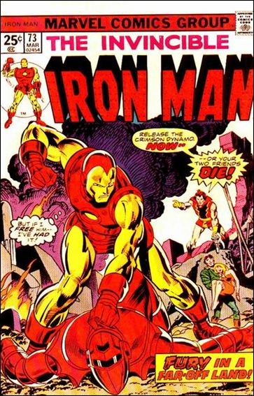 Iron Man (1968) 73-A by Marvel