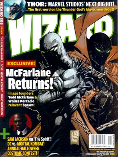 Wizard: The Magazine of Comics, Entertainment and Pop Culture 205-C by Wizard Press