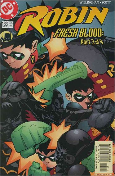 Robin (1993) 133-A by DC