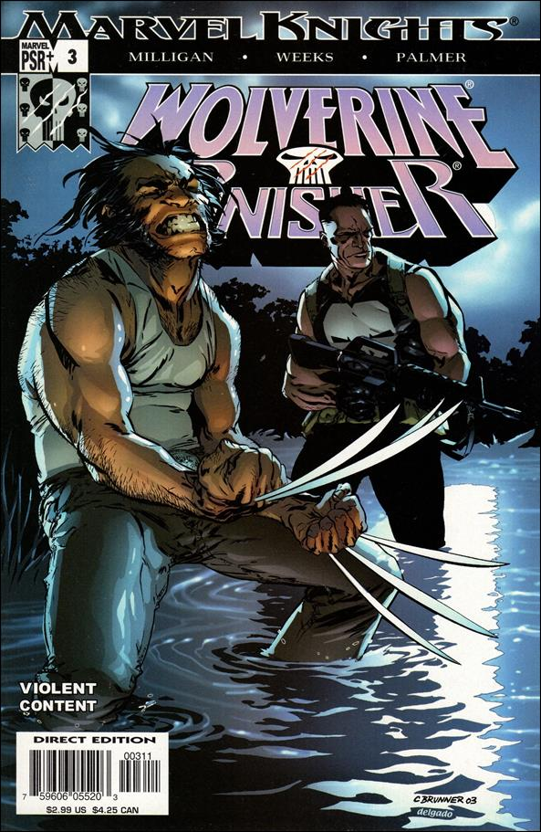 Wolverine/Punisher 3-A by Marvel