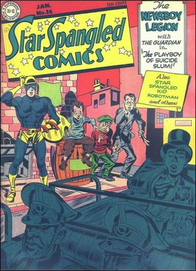 Star Spangled Comics (1941) 16-A by DC