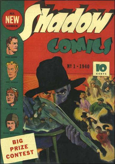 Shadow Comics (1940) 1-A by Street and Smith Publications