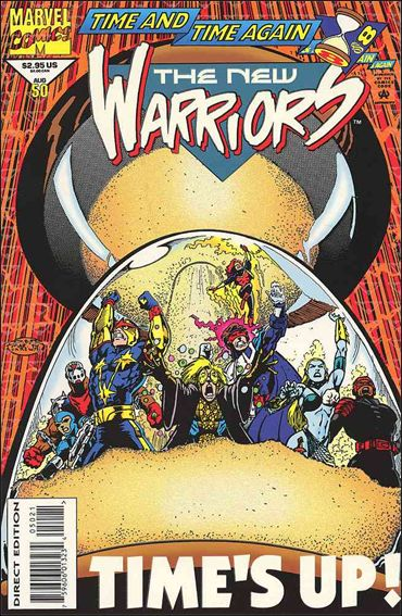 New Warriors (1990) 50-B by Marvel