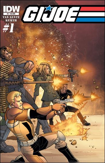 G.I. Joe (2013) 1-D by IDW
