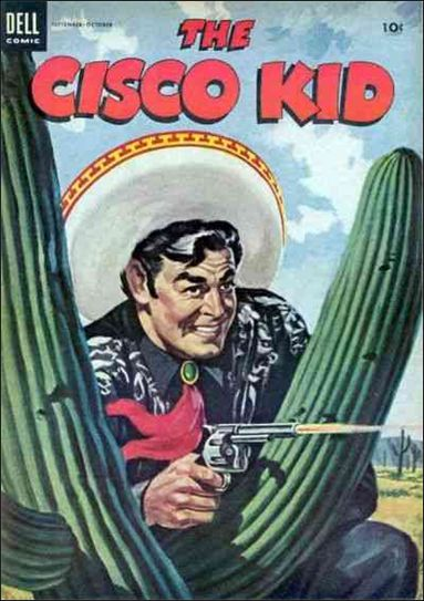 Cisco Kid (1951) 23-A by Dell