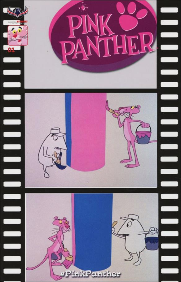 Pink Panther (2016) 1-D by American Mythology