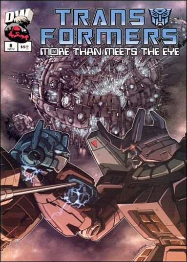 Transformers: More Than Meets the Eye (2003) 8-A by Dreamwave
