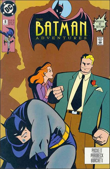 Batman Adventures 8 A May 1993 Comic Book By DC