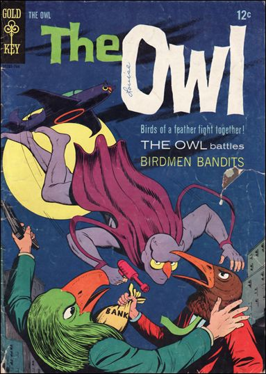 Owl (1967) 1-A by Gold Key