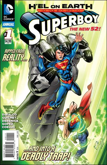 Superboy Annual (2013) 1-A by DC