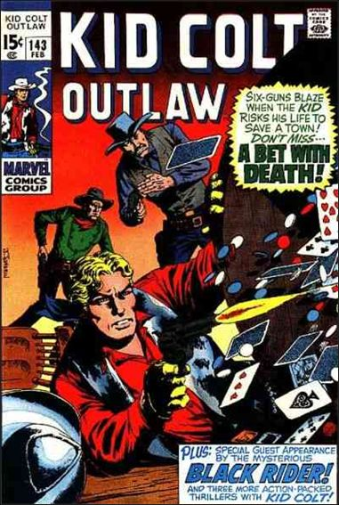 Kid Colt Outlaw  143-A by Marvel