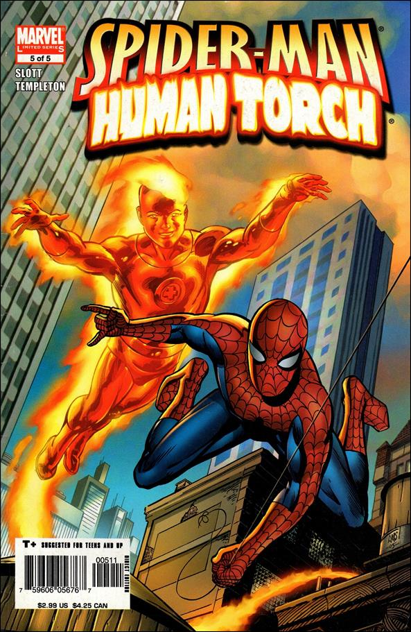 Spider-Man/Human Torch 5-A by Marvel