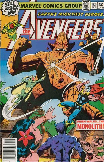 Avengers (1963) 180-A by Marvel