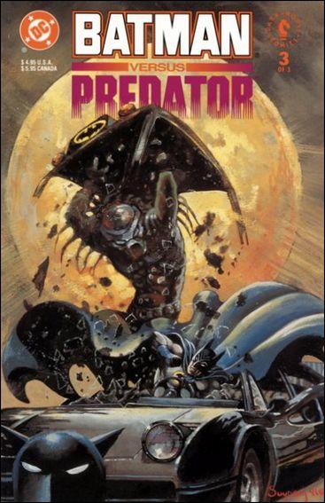 Batman Versus Predator 3-B by DC
