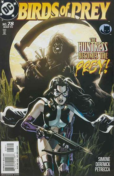 Birds of Prey (1999) 78-A by DC