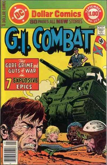 G.I. Combat (1952) 203-A by DC