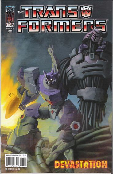 Transformers: Devastation 6-B by IDW
