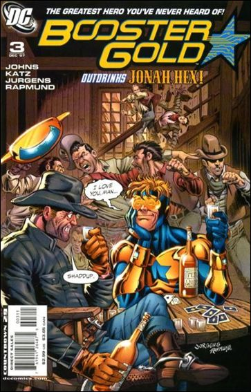 Booster Gold (2007) 3-A by DC